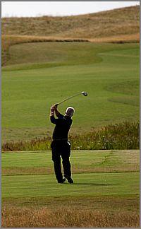 Golfing in Clare Ireland