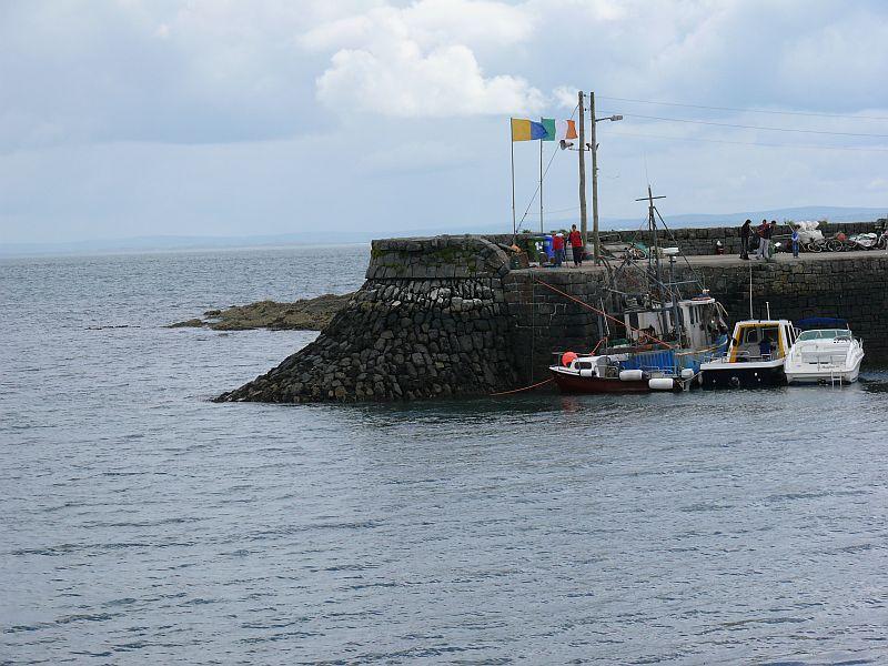 Kilbaha Pier Clare Ireland